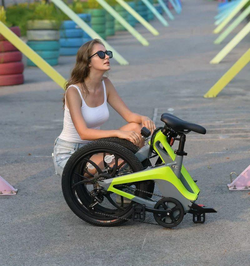 i10 sklopivi električni bicikl